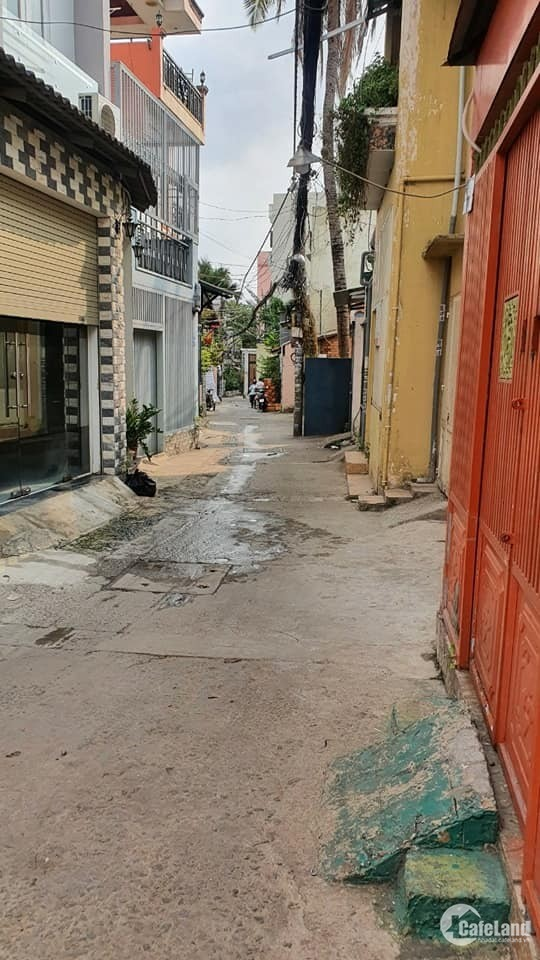 Bán nhà Phan Văn Trị, Bình Thạnh - 76m2 – Nhà C4 – Hẻm 3 gác – Giá 5 tỷ 59