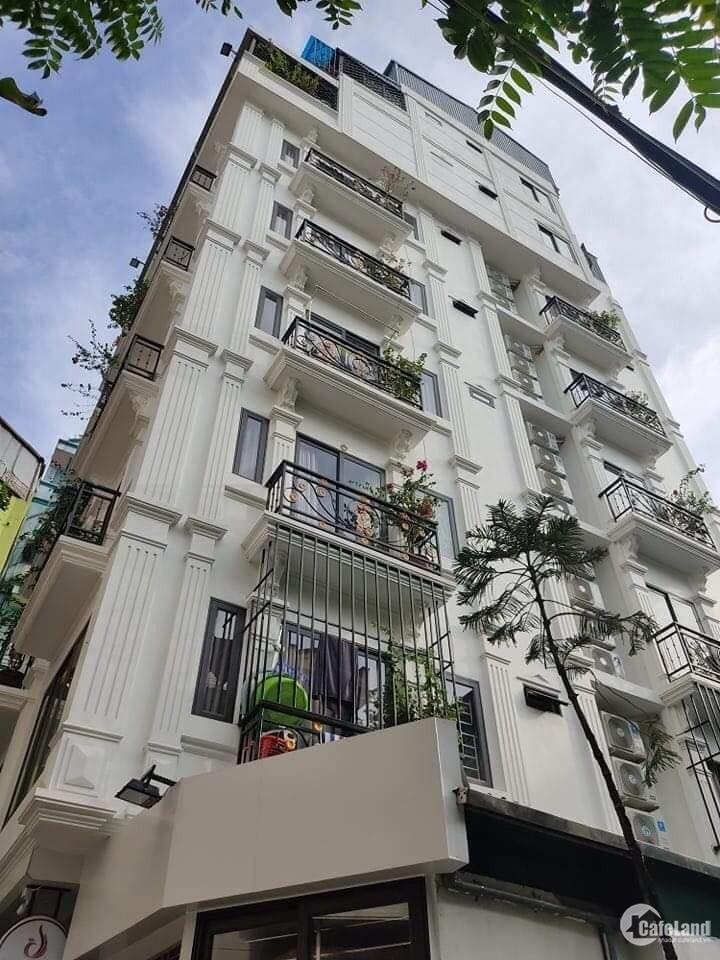 Hiếm! Bán Tòa Nhà 8 Tầng, Thang Máy, 15 Căn Hộ Cao Cấp, Trường Chinh. 80m2