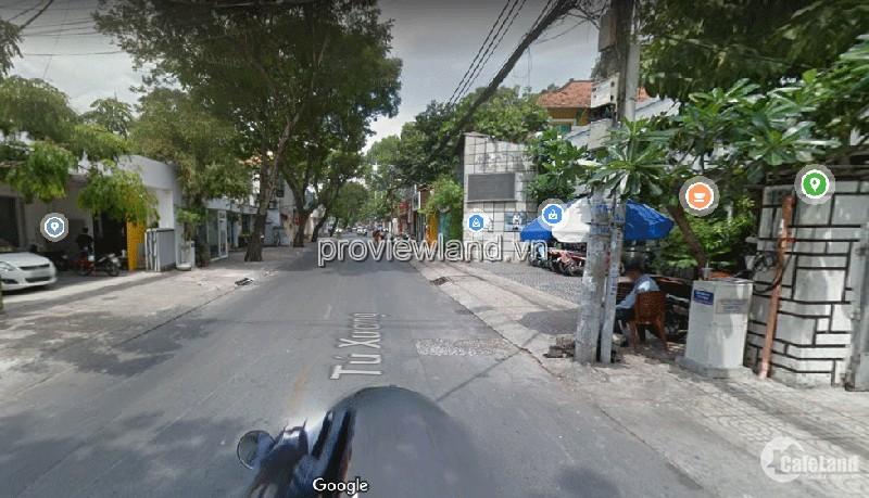 Bán nhà mặt tiền Tú Xương, Quận 3, HCM, dt 379m2, phù hợp đầu tư