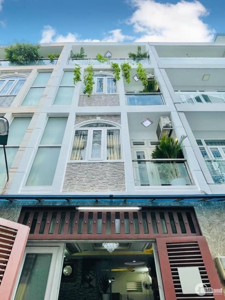 Bán nhà 55m2, 1 Trệt 3 Lầu ,  Nguyễn Duy Cung , Phường 12 , Gò Vấp