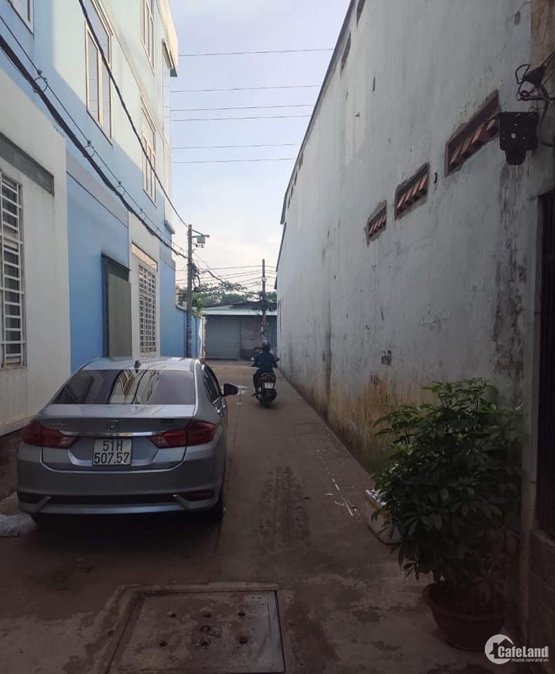 Nhà hẻm xe hơi phường Phú Thạnh, kế Hòa Bình, Thoại Ngọc Hầu, 72m2, 6tỷX