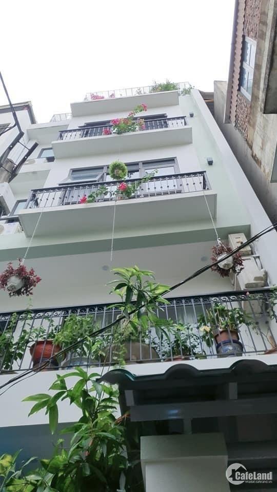 Bán nhà mới Thang Máy, 83m, 6.5m mặt tiền, 5 tầng, Võ Chí Công 10.8 Tỷ