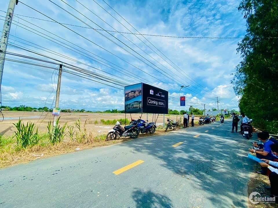Khu dân cư và chợ An Long cách đèn 4 ngọn Long Xuyên 6km