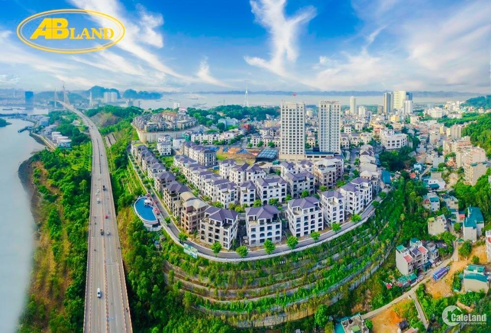 Căn ngoại giao biệt thự đồi 2 mặt tiền Beverly Hills hướng Nam view Vịnh Hạ Long