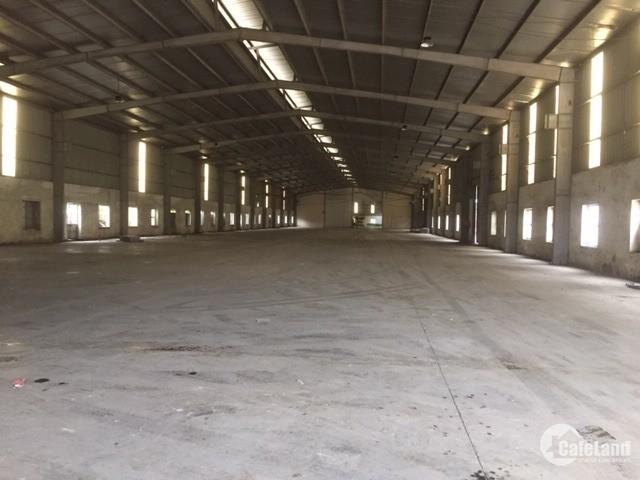 Bán kho xưởng DT 4300m2 KCN Lại Yên, Hoài Đức, Hà Nội