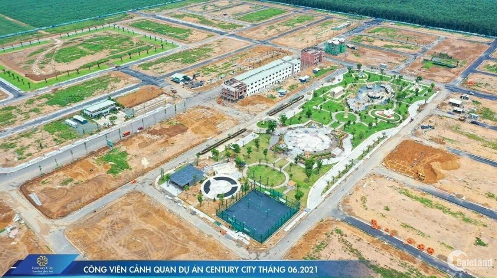 CENTURY CITY - ĐẤT VÀNG SÂN BAY QUỐC TẾ LONG THÀNH CHỈ 16,8TR/M2, CK 20 CHỈ VÀNG