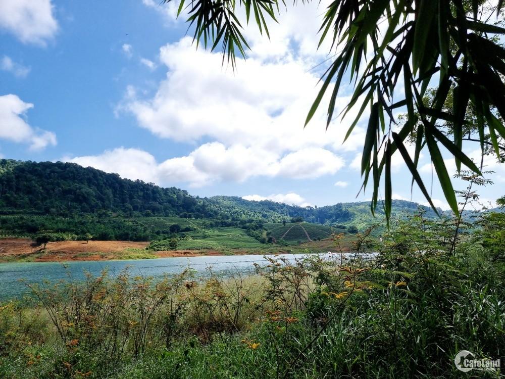 Bán Đất Vườn, Đất Sào Giáp Hồ Ngọc Đẹp Nhất bảo Lộc