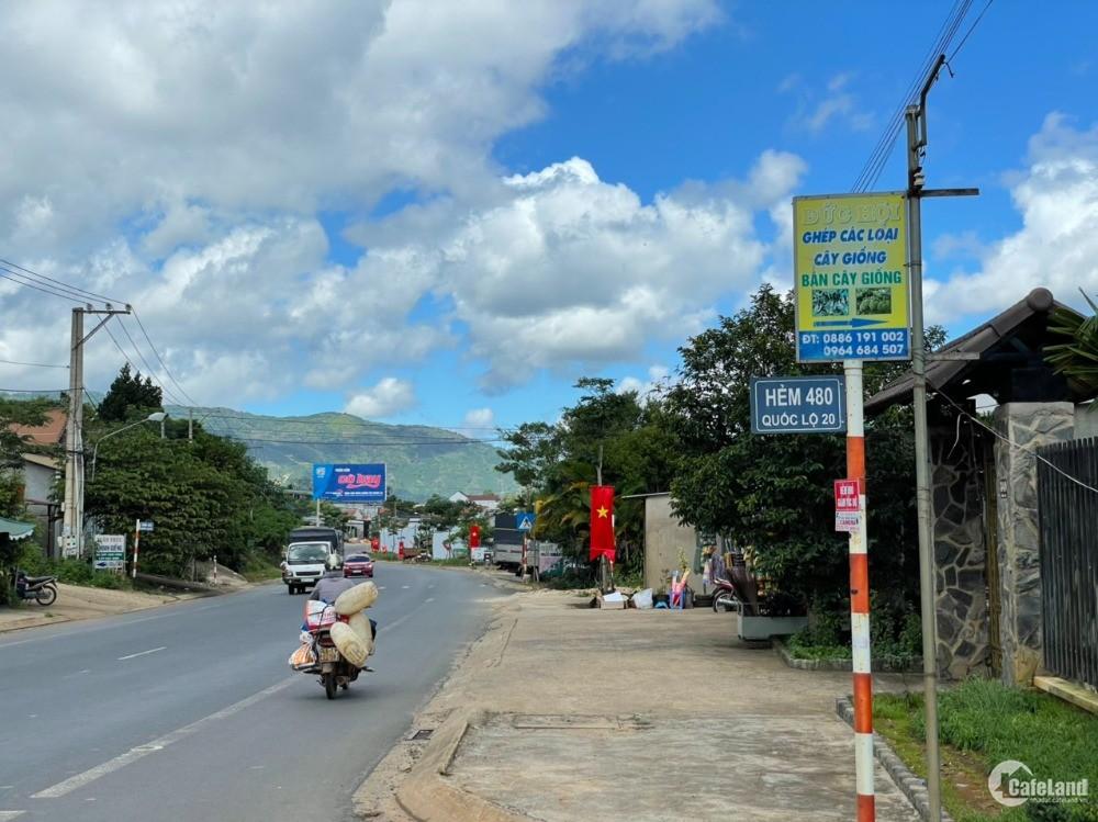 Đất trung tâm TP. Bảo Lộc view thung lũng, săn mây núi Đại Bình, giá rẻ