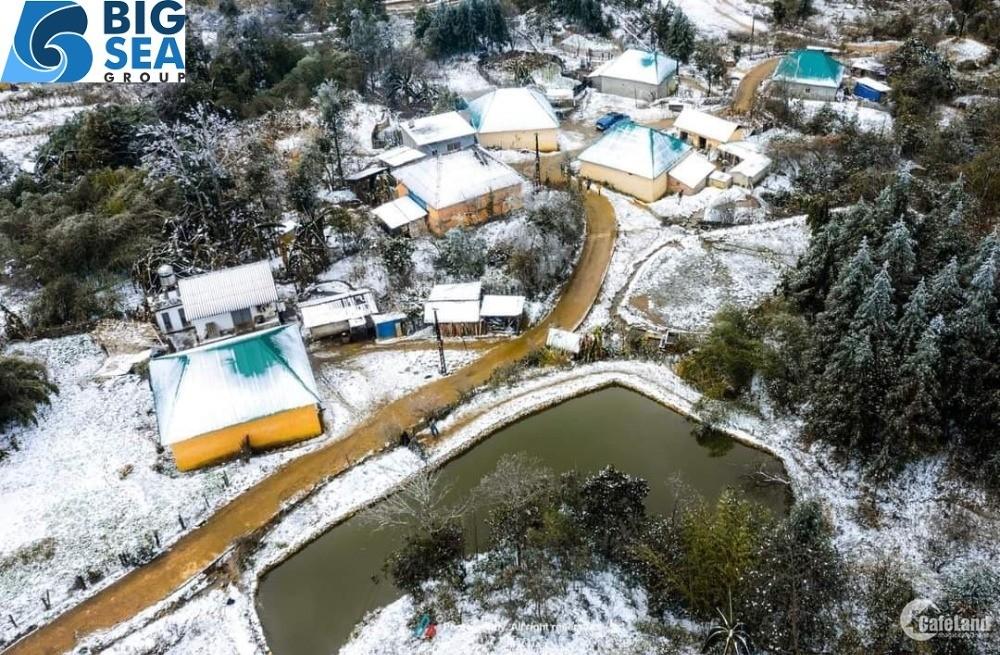 Lô đất 2000m2 mùa đông tuyết rơi phủ trắng tại Y Tý