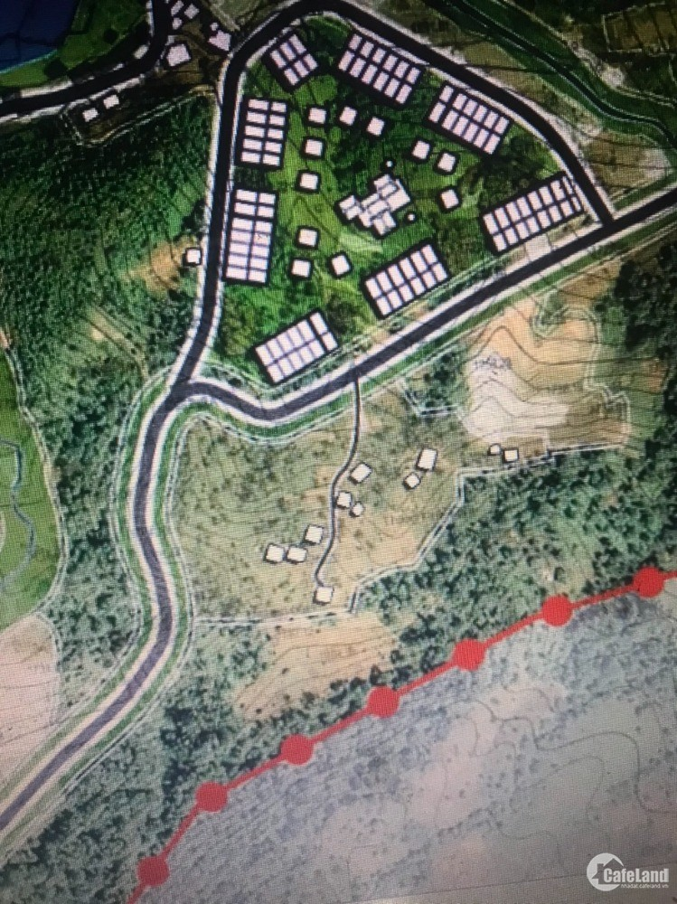 Mảnh đất ở thôn Phìn Hồ mặt tiền 32m, View bao trọn hồ Điều Hòa và thung lũng 08