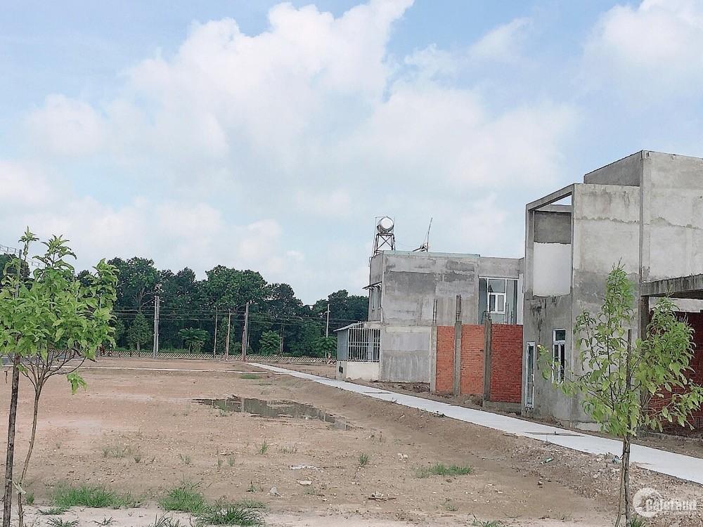 - Chính chủ bán lô đất đẹp 2 mặt tiền cạnh kcn Bàu Bàng , Sổ hồng riêng từng nền