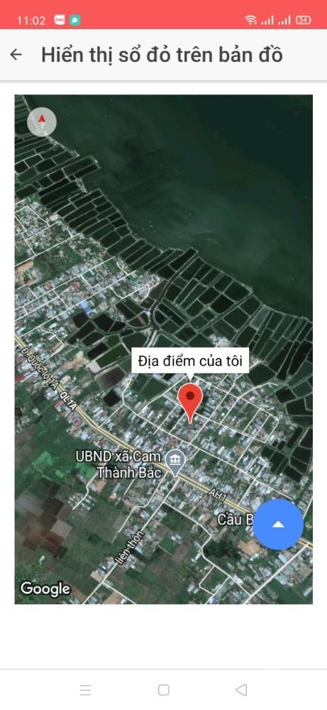 Bán Đất Gần Đầm Thủy Triều Cam Thành Bắc Bãi Dài Cam Lâm. LH. 0973078745.