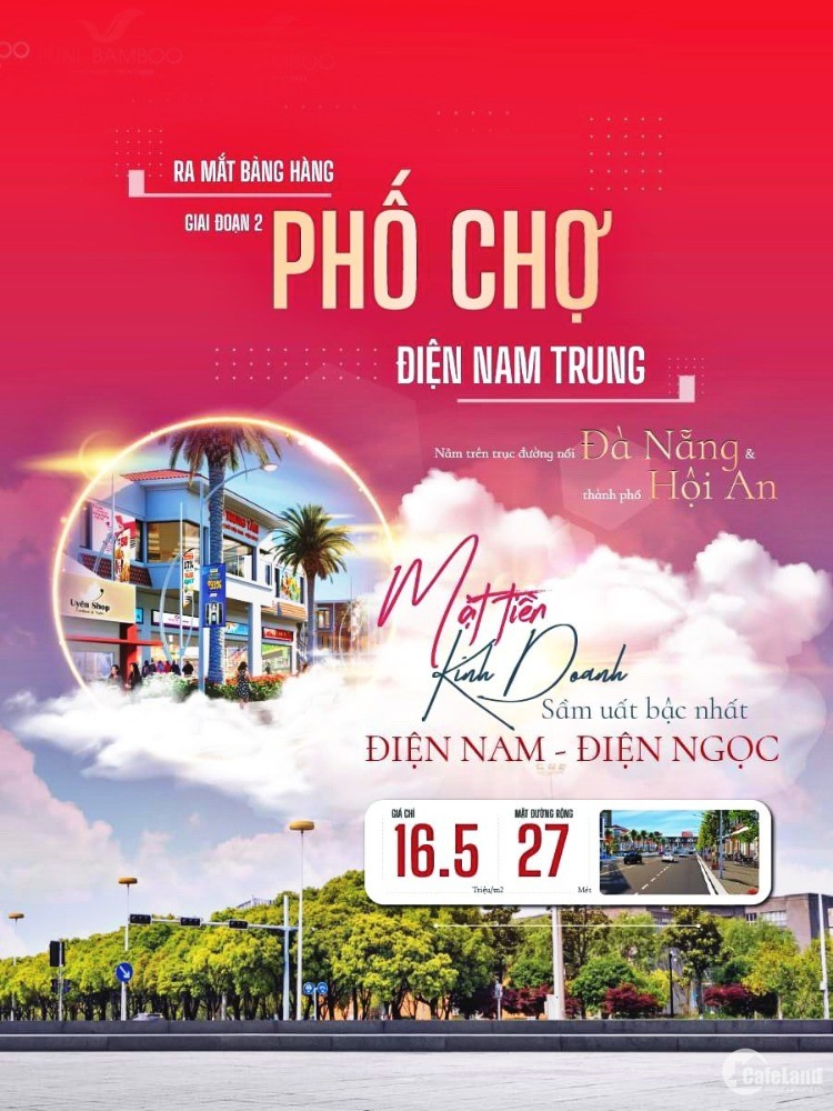 Mua đất phố chợ Nam Đà Nẵng ngập tràn tiện ích- rinh ngay LỘC VÀNG