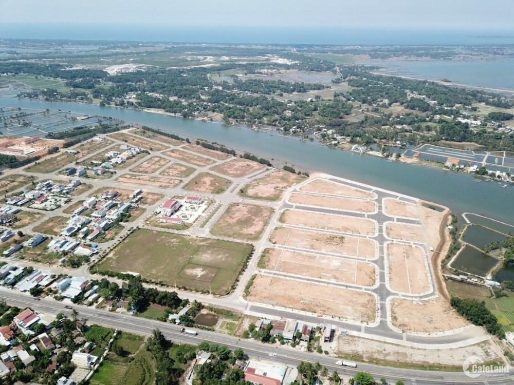 Đất nền mặt sông chỉ 10 triệu/m2, nhận đặt chỗ ngay hôm nay chỉ 50tr/nền