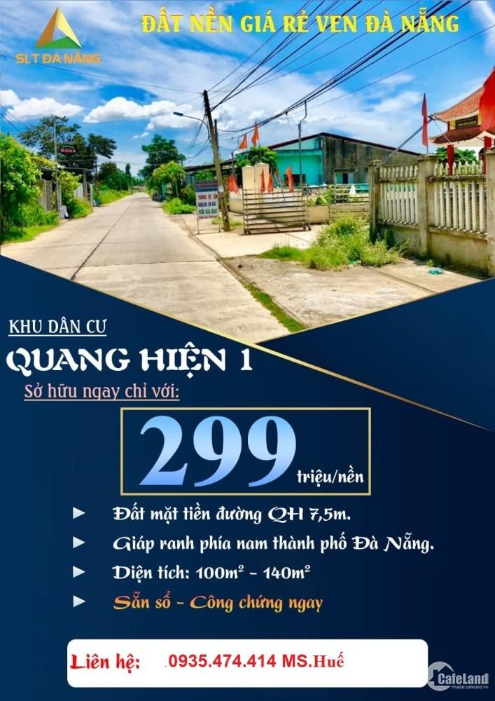 Chỉ 150 nghìn / Ngày sở hữu đất Điện Bàn, Quảng Nam Tin được không