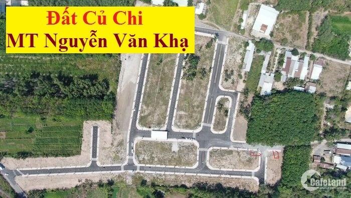 Đất gần bến xe Củ Chi. Gần chợ, Bách Hóa Xanh, trường học, tiện KD,buôn bán.