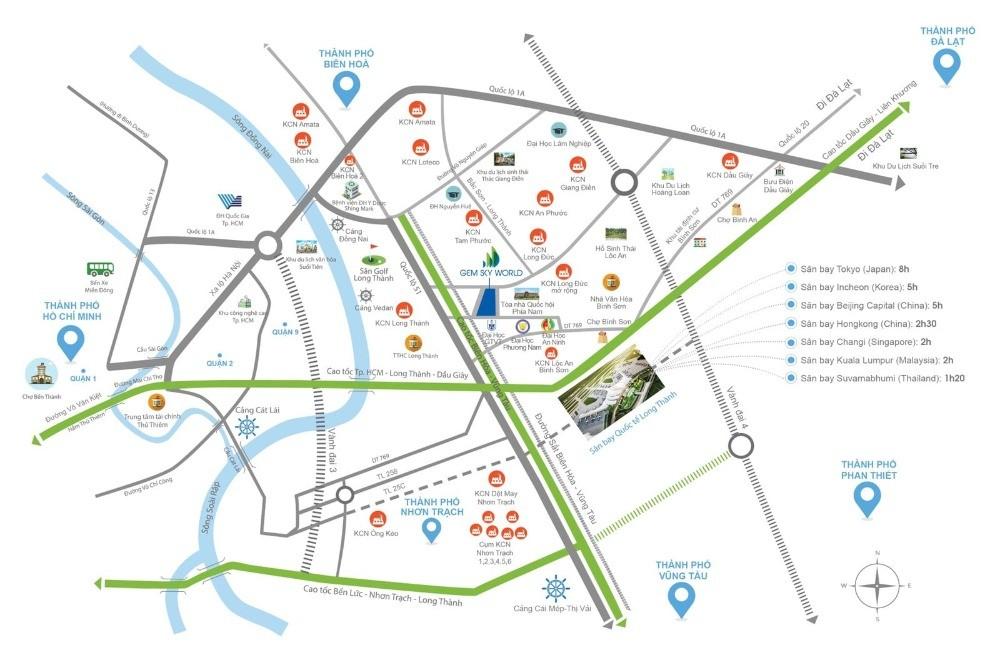 Đất nền sân bay quốc tế Long Thành - Đầu tư thảnh thơi - Sinh lời bền vững
