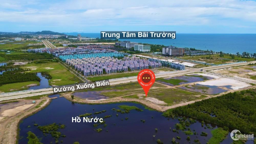 Cần bán mảnh đất 1000m xây khách sạn view hồ nước cách biển 800m