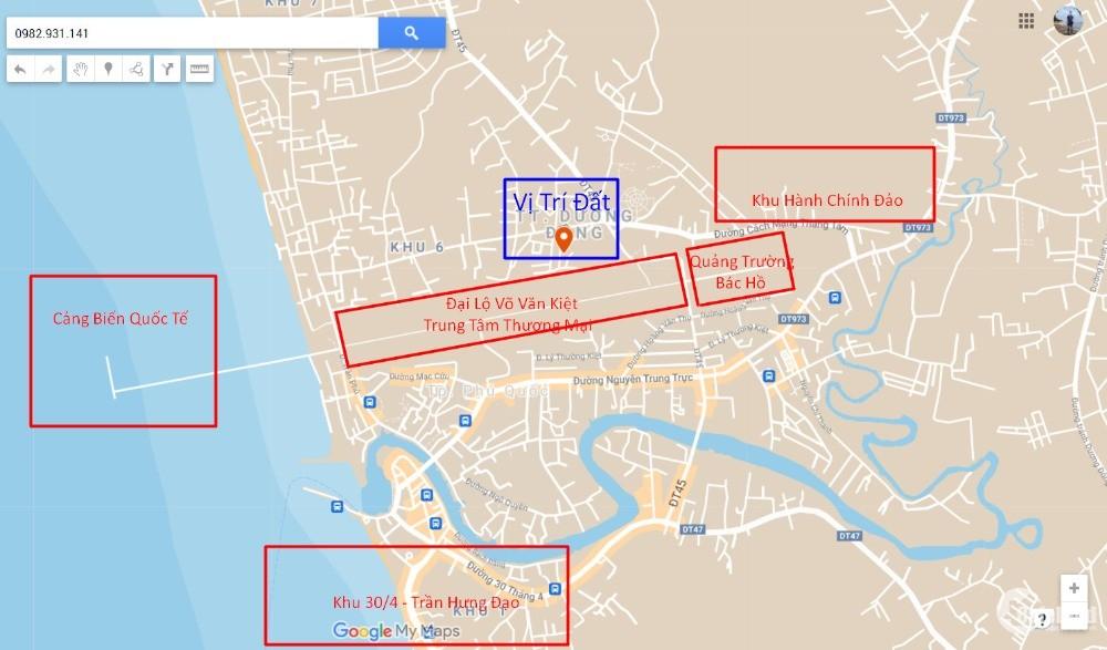 Bán đất quy hoạch mặt đường 16m trung tâm Dương Đông cách quảngtrường Bác Hồ 1km