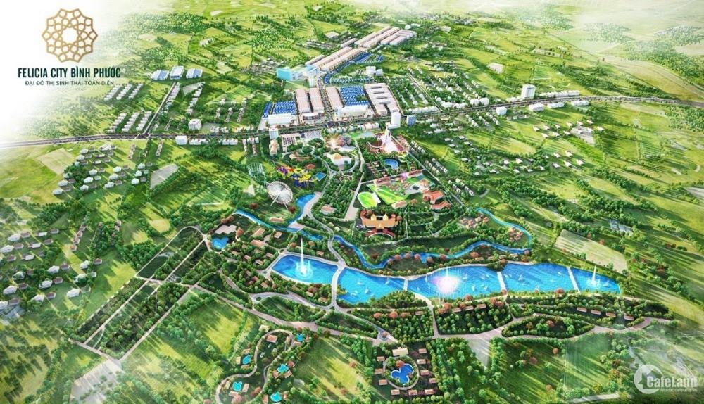 Gia đình cần bán lô đất mặt tiền DT741,Xã Long Hưng Phú Riềng Giá 458tr/150m2.