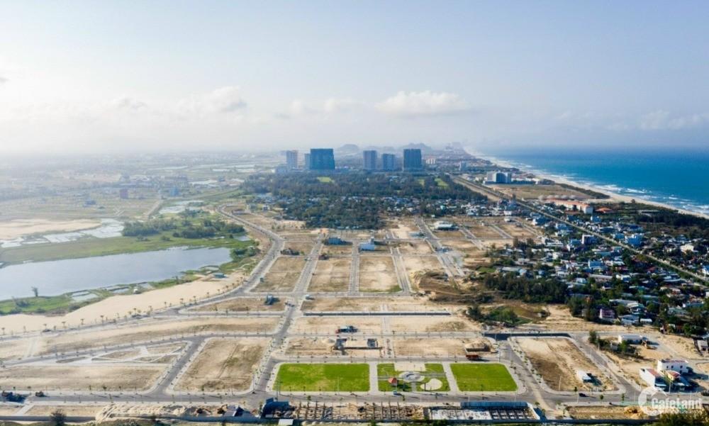 Đất nền ven biển Đã Nẵng - Quảng Nam siêu đẹp, vị thế đắc địa kề sông