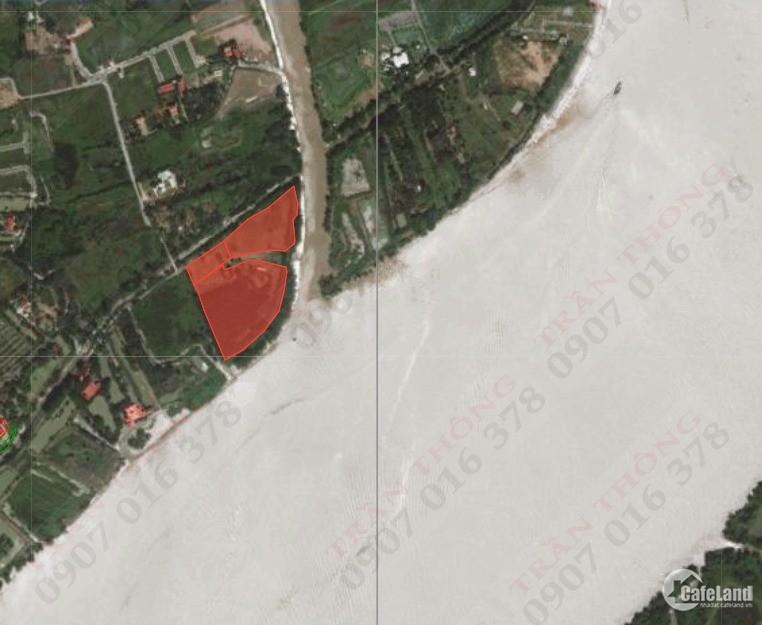Bán đất Long Phước, thổ cư 3 mặt tiền Tp Thủ Đức. Đất Giáp sông Đồng Nai