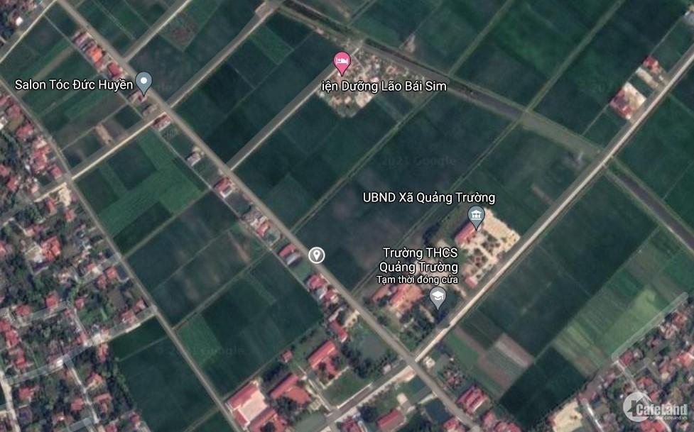 Ra nhanh vài lô MB 1341 Quảng Trường, Quảng Xương.