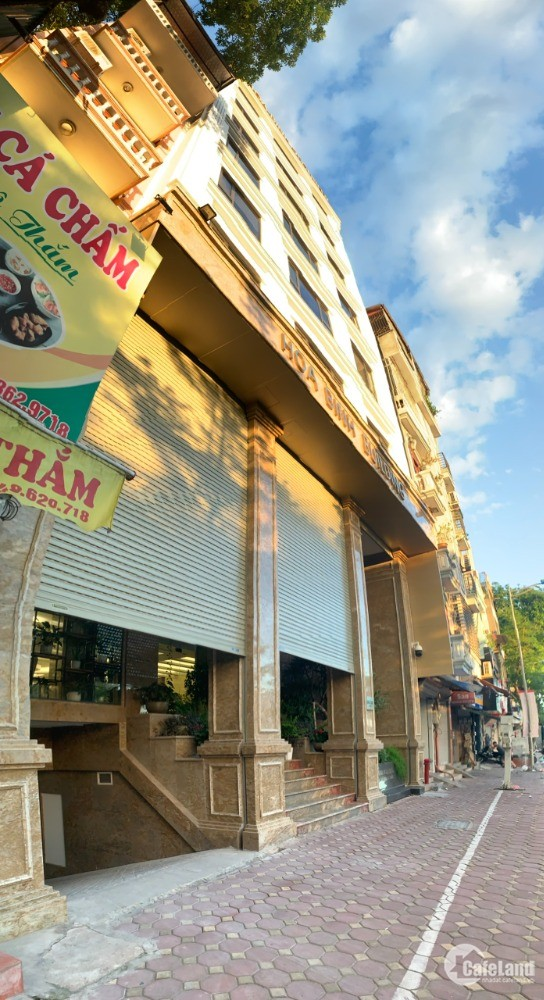 Bán đất Vỉa Hè xây Văn Phòng, 140m, 8m mặt tiền, Bưởi Tây Hồ, 31.5 Tỷ