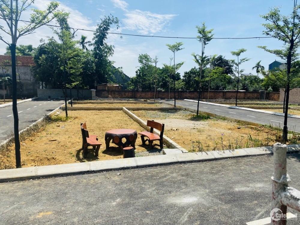 Đất đẹp tại CNC Hòa Lạc, gần đường quốc lộ, kinh doanh, giá chỉ 600tr/ lô