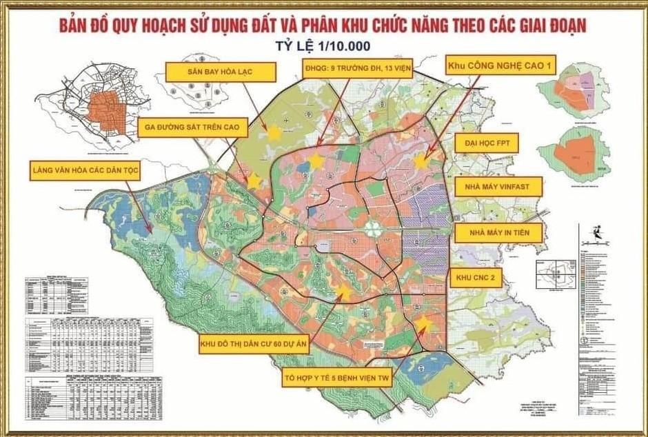 Đất nền Hòa Lạc, giá đầu tư cạnh tranh, chỉ từ 570 TRIỆU