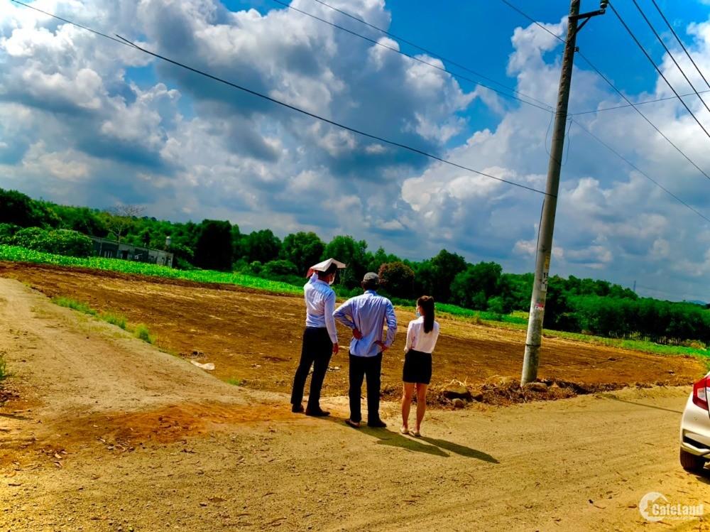 Bán 1038m2 đất 2 mặt tiền Bàu Cạn, cách sân bay Long Thành 3km, LH 0393 760 544