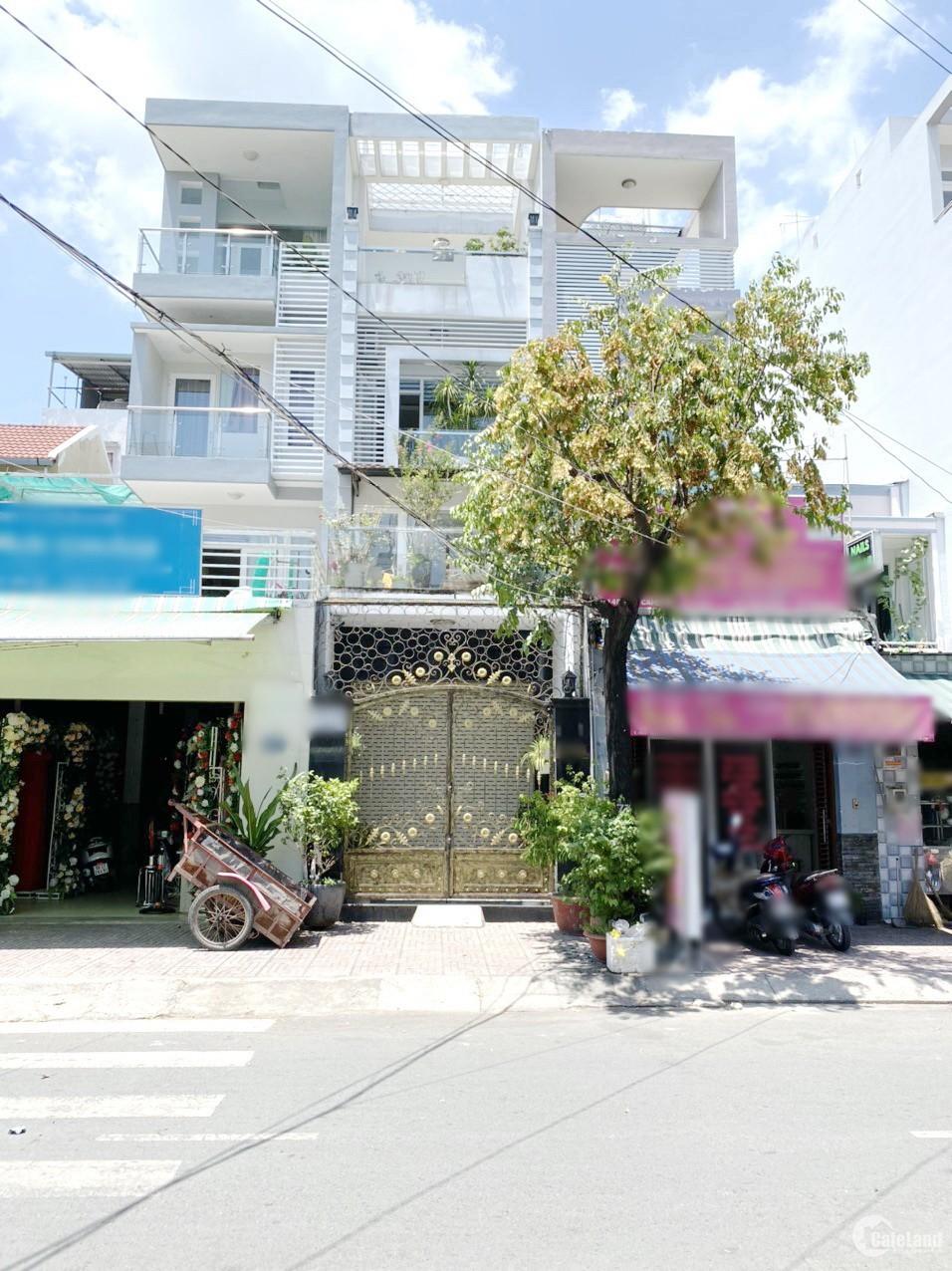 Nhà 64.8m2, 3 lầu, 6pn, 6wc, mặt tiền kinh doanh Đào Cam Mộc P4 Q8