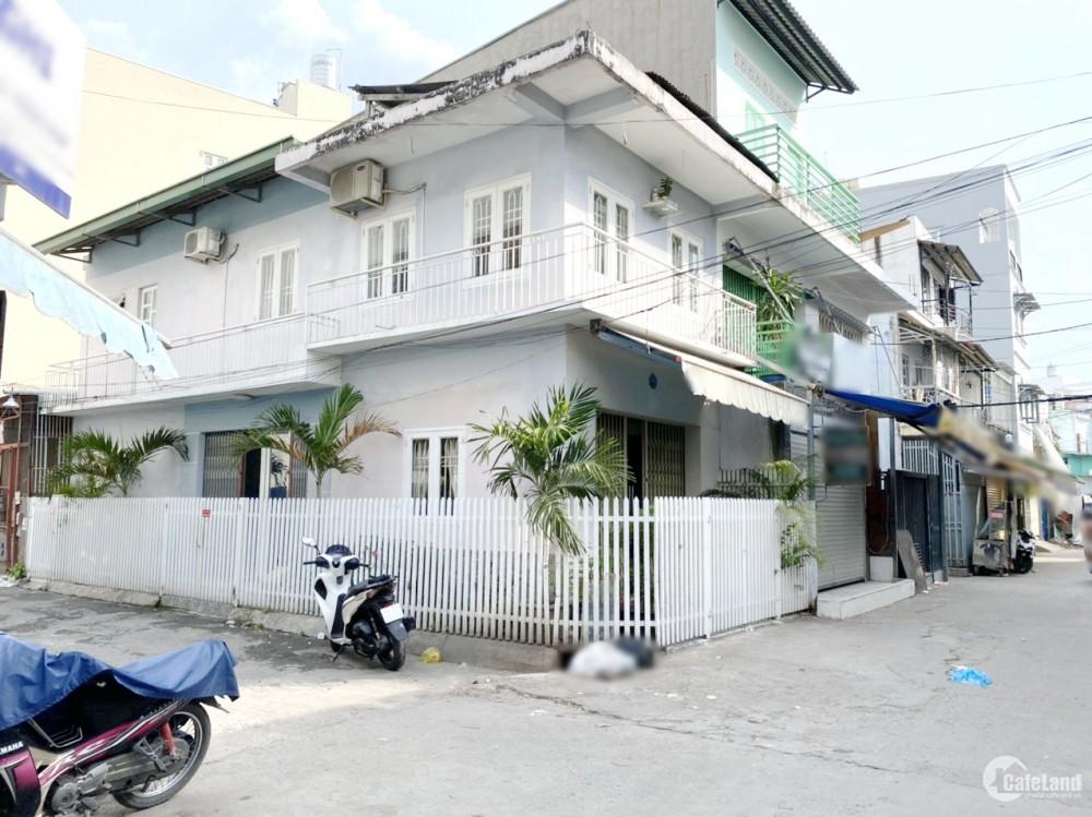 Nhà (4*12m, vuông vức) 2 mặt hẻm ôtô Dương Bá Trạc F1 Q8