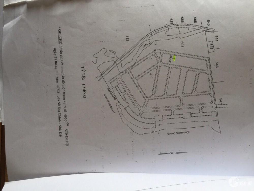 MSQ2.81-Bán đất mặt tiền Đường số 1 Khu Phú nhuận sông giồng. Giá 11.6 Tỷ