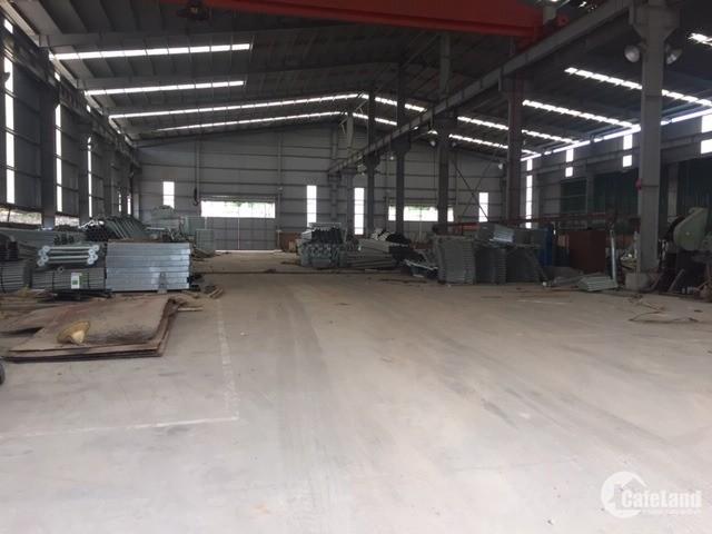 Cho thuê kho xưởng 1400m2 ở mặt đường phan trọng tuệ, văn điển, giá chốt 68k/m2