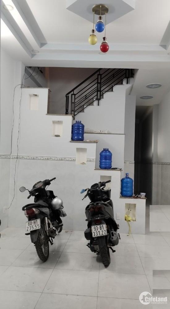 Cho thuê nhà HXT Bùi Quang Là, P.12, Gò Vấp,  4x14m, 1 trệt, 1 lầu, 7 triệu/thg