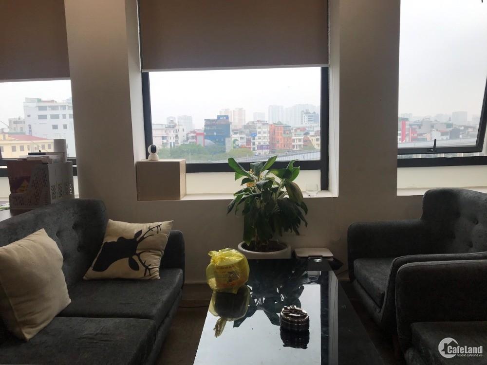 Chính chủ Còn duy nhất Văn phòng 50m2 view hồ Hoàng Cầu giá rẻ cho thuê