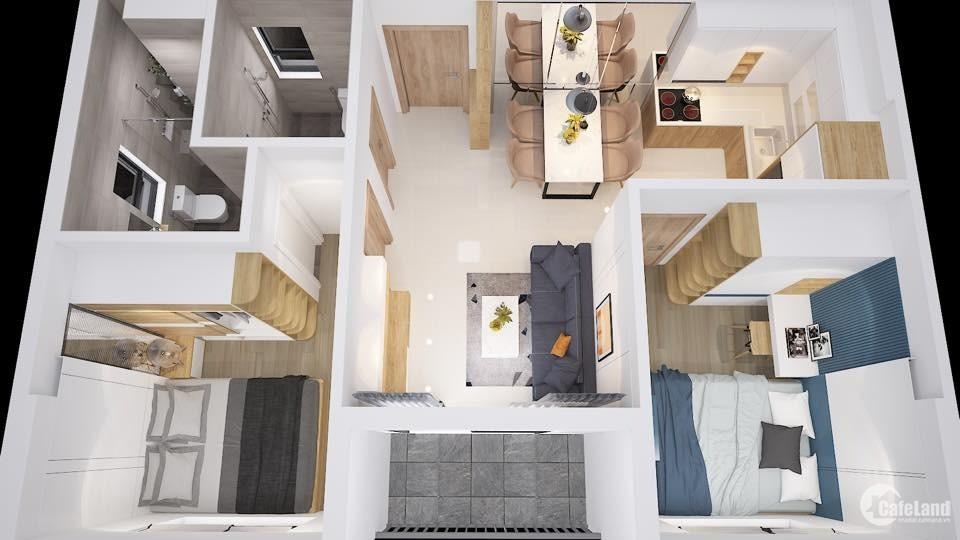 Bán căn hộ 2PN dự án Bcons Plaza của CĐT Bcons - Bàn giao nội thất cao cấp