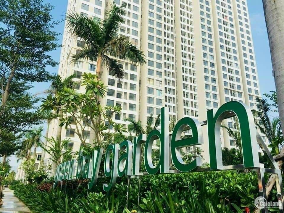 Bán căn góc 2pn chung cư green bay garden,giá chỉ hơn 1 tỷ,ngân hàng cho vay 70%