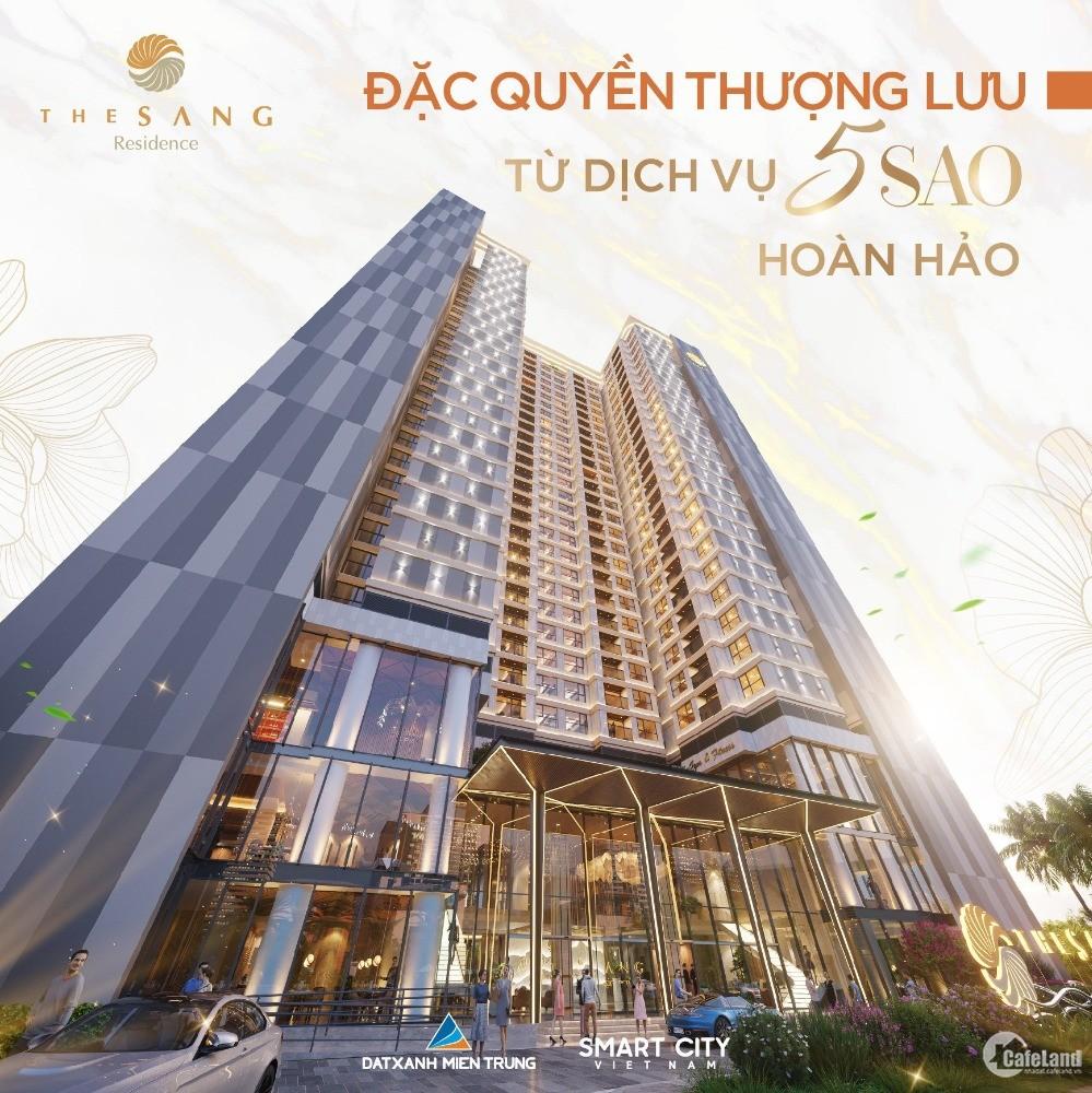 Chính sách ưu đãi hấp dẫn cho KH khi mua căn hộ 5 sao The Sang Đà Nẵng tháng 8