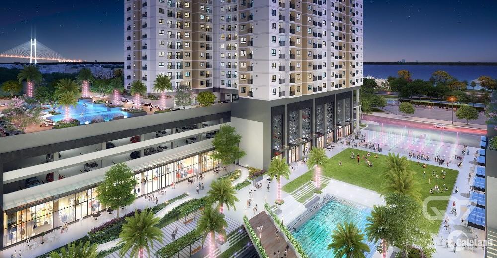 Căn hộ Q7 Saigon Riverside Hưng Thịnh sát Sông, 1.9 tỷ/2PN đã VAT. LH 0931025383