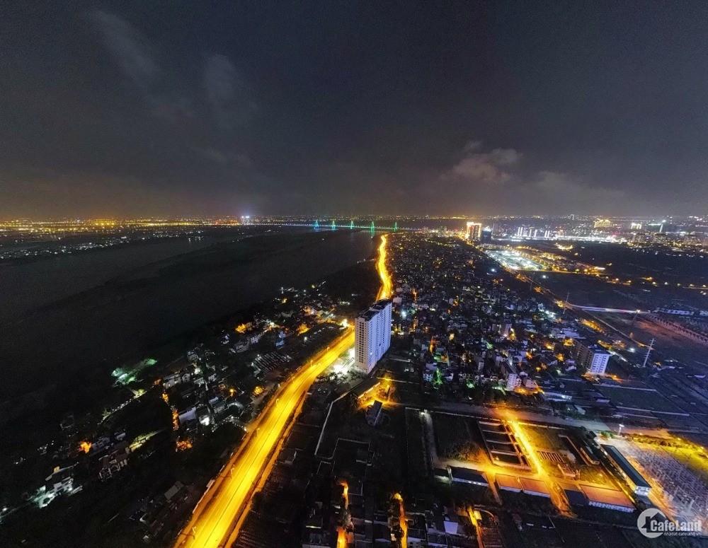 Căn hộ 2PN giá tốt nhất khu vực view Sông Hồng, thanh toán 718tr, CK 100tr