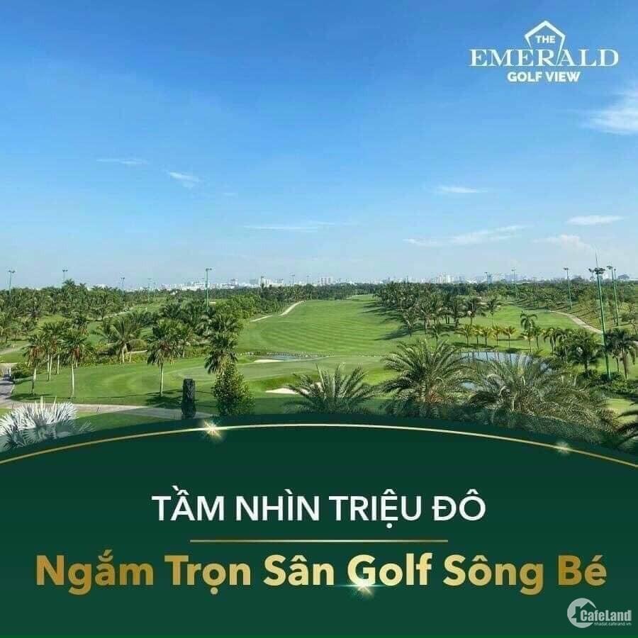 The Emerald golf view.Căn hộ mặt tiền Thuận An