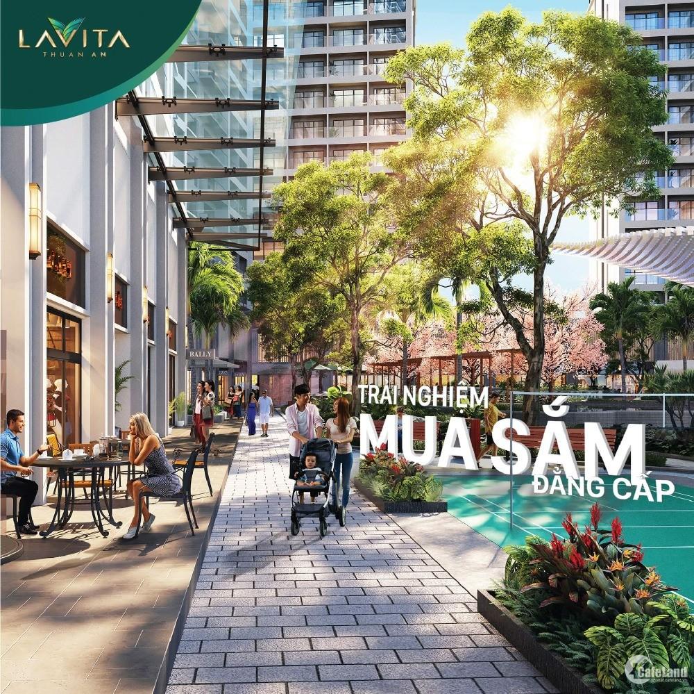 Ưu đãi mạnh trong mùa dịch với căn hộ cao cấp Lavita Thuận An 69m2 chỉ 1,7 tỷ