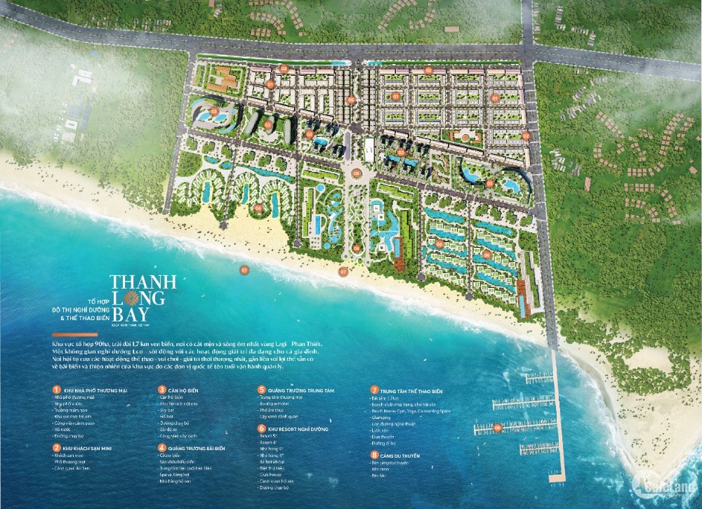 Chỉ từ 1,8 tỷ Villa nhà vườn mặt biển Thanh Long Bay cam kết mua lại 6%/năm