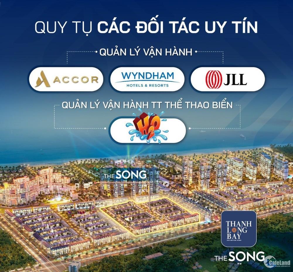 Villa mặt biển Thanh Long Bay sổ lâu dài cam kết mua lại LN 6%/năm
