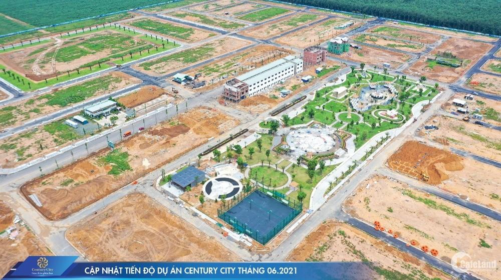 Đất nền sân bay Long Thành - Century City. Lợi nhuận 18%/năm