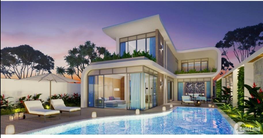Bán biệt thự mặt biển Maia Quy Nhơn Resort 4PN giá chỉ 23 tỷ/căn. PKD 0912357447