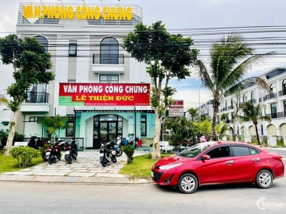 Nhà phố kinh doanh tại trung tâm hành chính tỉnh Long An 2lầu 1trệt