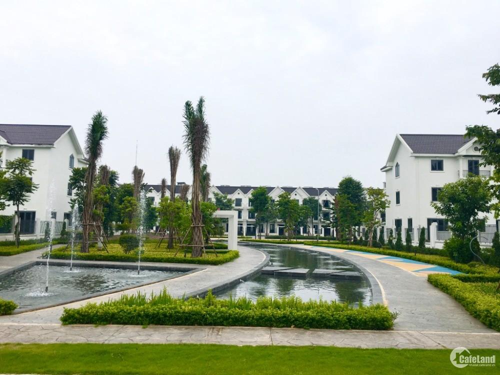 Chỉ còn 2 căn biệt thự nhà vườn 400m2, 3.5 tầng, giá chỉ 37 triệu/m2